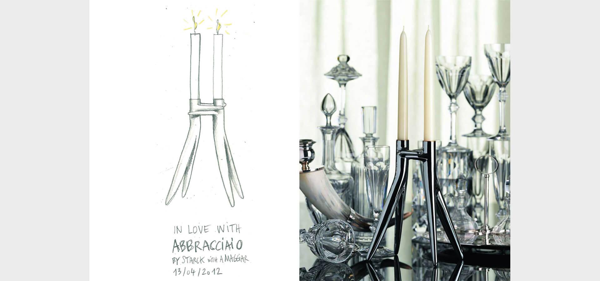 Abbracciaio with philippe starck ambroise maggiar arubaitofo Gallery